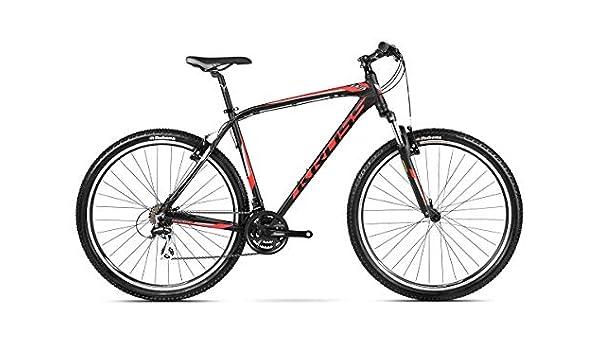 Kross Bicicleta MTB mountainbijke Bike Mountain Shimano Aluminio Hexagon B3 , Nero/Rosso/Grafite, M: Amazon.es: Deportes y aire libre