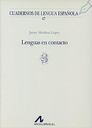 Lenguas en contacto s Cuadernos de lengua española: Amazon.es ...