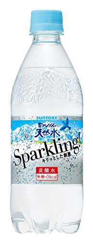 Suntory Southern Alps natural water sparkling carbonated water bottle 500ml X 24 pieces of by Local sake and beverage