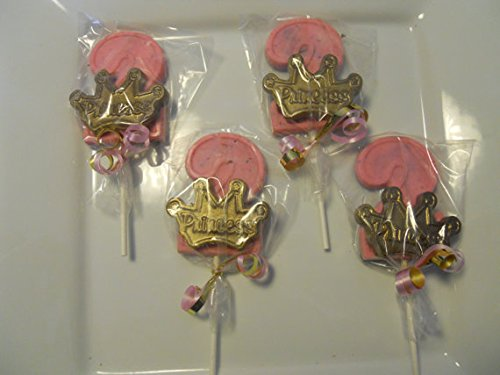 Amazon 12 Disney Princess Crowns Pink Gold 2nd Birthday Party Favors Toys Games