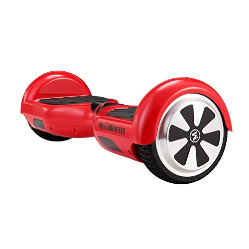 MegaWheels 6.5′ Hoverboard UL 2272 Certified Self-Balancing Smart Scooter (Red)