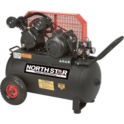 NorthStar Portable Air Compressor - 2 HP, 20-Gallon