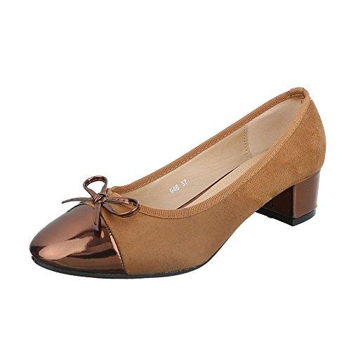 Ital-Design - Cerrado Mujer marrón claro