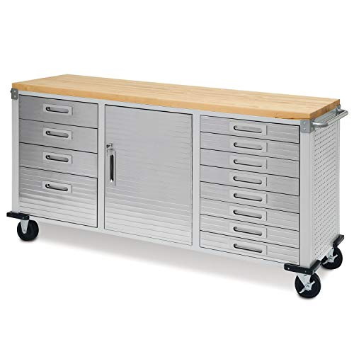 raHD 12-Drawer Rolling Workbench ()
