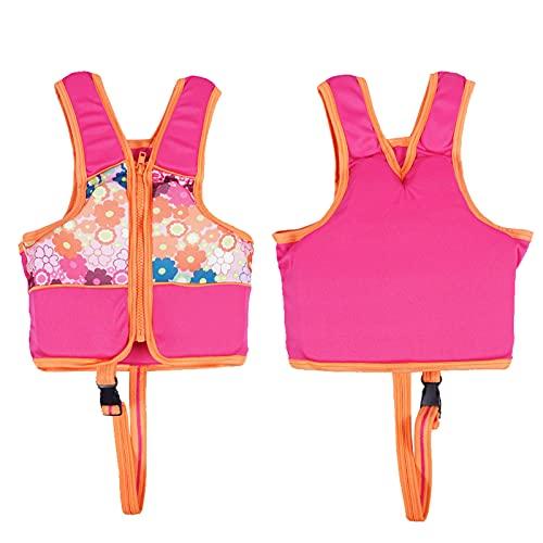 Girl Life Jacket Kids Zwemvest Zwemmen Zwemmen Trainingshulp met been Veiligheidsgordel voor zwembaden, Waterparken…