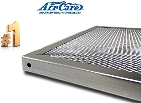 AirCare 20x25x1 Silver Electrostatic Washable AC Furnace Air FilterLimited Never Buy Another FilterMade In the USA