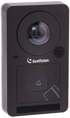 GeoVision GV-CS1320 2MP H.264 Camera Face Detection Access Controller with 180-degree panoramic lens and built-in 13.56 MHz Reader (Cameras Geovision Security)
