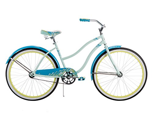 Huffy Bicycle Company Lady's Good Vibrations Bike Classic Cruiser, 26