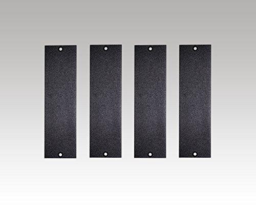 1U 500 Series Universal Blank Panel (4 Pack) (Best 500 Series Lunchbox)