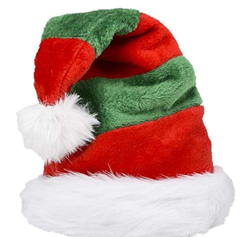DollarItemDirect ELF Striped Santa HAT, Case of 24