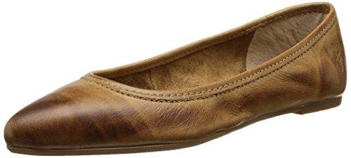 Frye Regina Ballet - Zapatos de Cordones de canvas para mujer Beige - Beige (Cam)