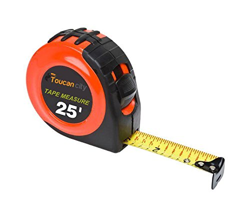 Toucan City Tape Measure and Husky 14 ft. x 210 ft. x 10 mil Yellow Guard Vapor Barrier CFYG1014-210Y by Toucan City (Image #3)