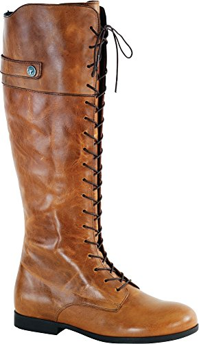 Boots Flat Womens Camel (Birkenstock Women's Longford Boot Camel Leather Size 39 M EU)