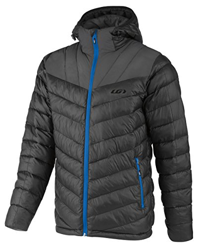 Louis Garneau Men's Appear Jacket, Black/Blue, X-Large Louis Jacket