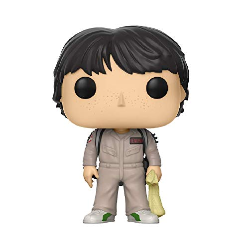 Funko - POP! Vinilo Coleccion Stranger Things - Figura Mike Ghostbuster (21486)