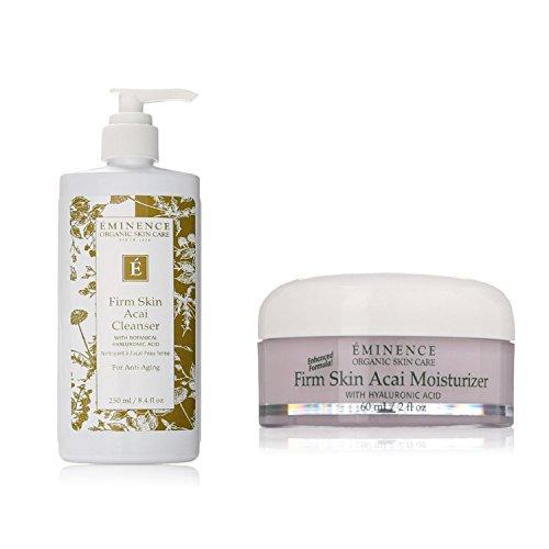 - Bundle - 2 items : Eminence Firm Skin Acai Moisturizer, 2 Ounce & Eminence Firm Skin Acai Cleanser, 8.4 Ounce