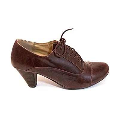 091c13a403d Chelsea Crew Womens Jimmy Oxford Brown 36 (Us 5)