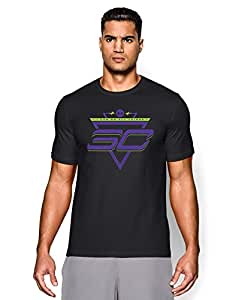Under Armour Men's SC30 Future Logo T-Shirt Large Black