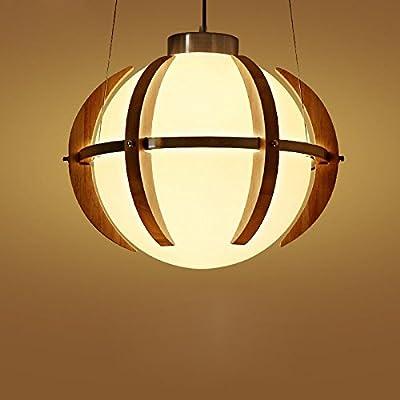 Wooden Vinatge Creative Retro Pendant Light Chandeliers Lighting Fixtures For Dining Room Living Room Bedroom Bar Cafe Restaurant 90V-240V-YP510