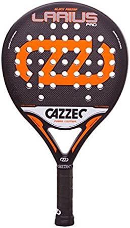 Cazzec Larius Pro Naranja Black Series - Palas De Padel