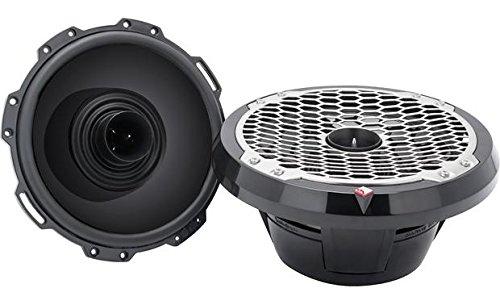 Pair Rockford Fosgate Punch PM282H-B 8'' 300W Marine/Boat Speakers Black 4-Ohm