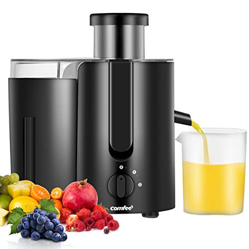 Juicer Extractor,Masticating Juicer,High Speed Juicer, BPA Free, with BPA Free Plastic Juice Cup 400W, 2000RPM by Comfee For Sale