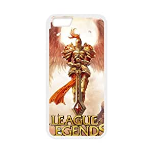 League Of Legends iPhone 6 Plus 5.5 Inch Cell Phone Case White&Phone Accessory STC_186989