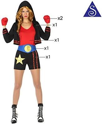 Atosa- Disfraz boxeadora, XL (17477): Amazon.es: Juguetes y juegos
