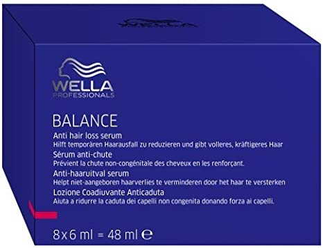 Wella Balance Anti Hair Loss Serum (8 x 6 ml) ampollas Professionals Care