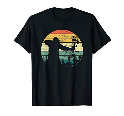 Vintage Compound Bow Hunting T-Shirt