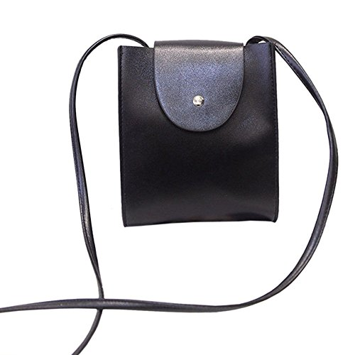 Black Women Lady Fashion Leather Satchel Handbag Shoulder Tote Messenger Crossbody Bag Sincere-handbag0149
