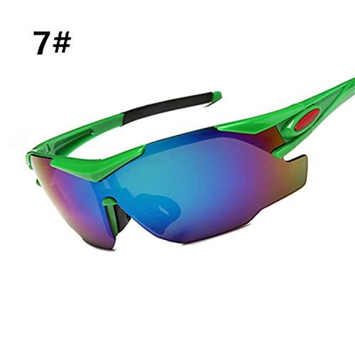 UV400 Sport Sunglasses Men Cycling Goggles Eyewear MTB Glasses Women Road Bike Gafas Ciclismo Sports Glasses for Bicycles,7