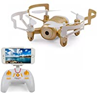 Rc Mini Drone with Camera Live view by Smartphone Compatible iphone and Android FPV Quadcopter with Camera for Kids