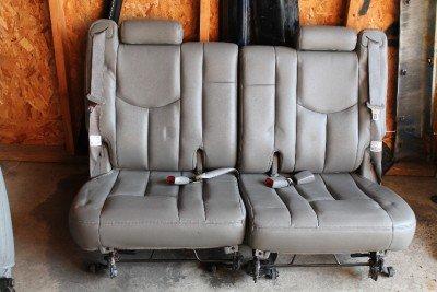 Amazon com: General Motors 00-06 GREY LEATHER 3RD SEAT SEATS TAHOE