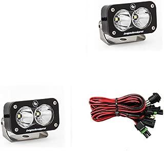 product image for Baja Designs S2 PRO Pair ATV LED Light Flood Work Pattern