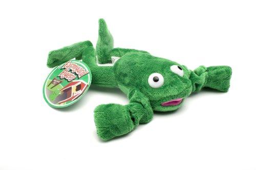 Playmaker Toys Flingshot Flying Frog, Green