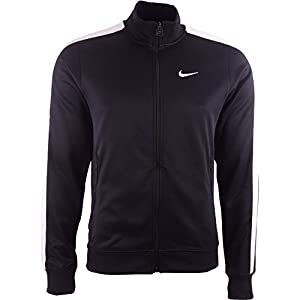 Nike Mens Team N98 Track Jacket Black White Extra Large
