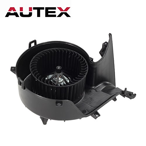 AUTEX ATC HVAC Blower Motor Assembly Compatible with Saab 9-3 Sedan 03 Blower Replacement for Saab 9-3 2004-2011 Heater Blower Motor Air Conditioner 13221349 9228317 13250115