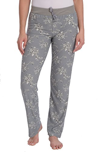 Striped Pajama Pants Flannel (Wanted Women's Lightweight Ultra Soft Stretch Printed Pajama Pant (Floral Pattern, 3X))
