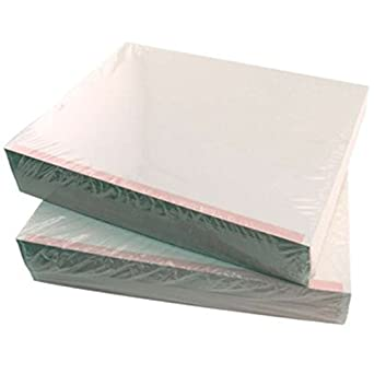 Amazon com: ESD-Safe White Paper with Pink Stripe, 8-1/2 x