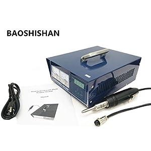 Hand-held Ultrasonic Plastic Welding Machine 500w Ultrasonic Spot Welder Portable Plastic Welder PE Material