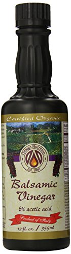 Aged Organic Vinegar (Omega Nutrition Balsamic Vinegar, 355 ml)