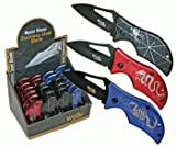 Poison Series Folding Knives, 3-pc Set (Scorpion, Spider, Dragon), Outdoor Stuffs