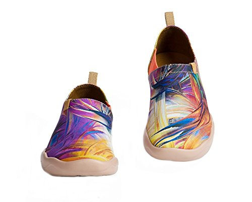 Uin Femme Violet Pourpre Peintes Chaussures Toiles De Rêve Pour Bateau UOwUqxfv