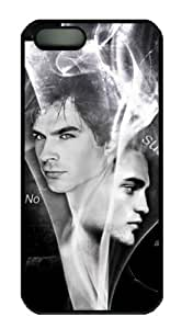 Paul Wesley and Ian Somerhalder of Vampire Diaries For SamSung Galaxy S6 Phone Case Cover PC Black Hard Shell Case