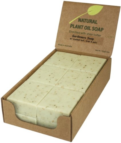 (Gardeners (12 bars), Enriched with shea butter, Triple-milled (twice), creamy & rich lather )