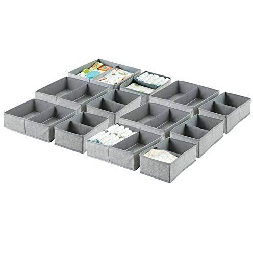 Hebel Fabric Dresser Drawer and Closet Storage Organizers | Model DRSSR - 414 | Set of ()