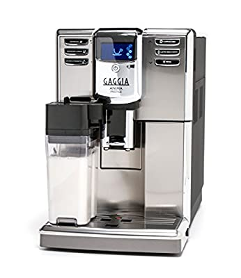 Gaggia Anima Prestige Coffee Maker, Fully Automatic Frothing for Latte, Macchiato, Cappuccino and Espresso Drinks with Programmable Options by Gaggia