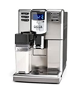 Gaggia Anima Prestige Automatic Coffee Machine, Super Automatic Frothing for Latte, Macchiato, Cappuccino and Espresso Drinks with Programmable Options