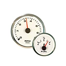 Sierra International 62540P White Premier Pro Water Temperature Gauge, 2\